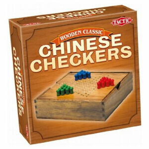 Classic Chinese Checkers, A classic board game with highquality solid wood parts