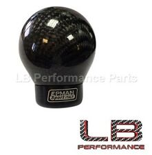 Universal Carbon Fiber Fibre Gear Lever Shift Knob Ball for BMW VW AUDI HONDA MG