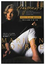 Brand New Fragments Marilyn Monroe Fragmented Soul Japanese Book from Japan