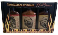 Set Of 3 Pain is Good Jamaican Garlic Louisiana Hot Habanero Chili Sauce Gift