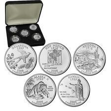 2008 Uncirculated US Mint State Quarters Set in Gift Box - BU Statehood Quarters