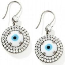 Gastineau Glamour 11.2 ct Reversible Evil Eye Sterling Silver Drop Earrings
