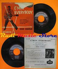 LP 45 7'' EDDIE COCHRAN C'mon everybody Sittin'in the balcony england cd mc dvd