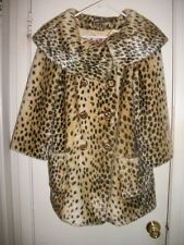 Juicy Couture Cheetah Faux Fur Jacket/Coat