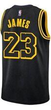NUOVA CANOTTA/JERSEY DA COLLEZIONE-BASKET NBA-LOS ANGELES LAKERS-LEBRON JAMES