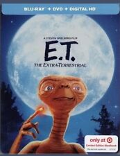 NEW E.T. THE EXTRA TERRESTRIAL BLU RAY DVD DIGITAL TARGET EXCLUSIVE STEELBOOK