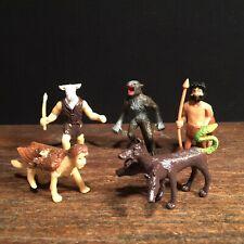 Vtg Toy Monster Lot Werewolf Sphinx Minotaur Centaur Cerberus K Toys Mythology