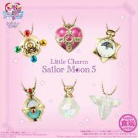 Bandai Gashapon Sailor Moon Little Charm Vol. 5 - 1 Random Keychain Figure USA