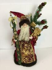 San Francisco Music Box Co Santa Victorian Father Christmas