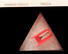 78 RPM PHONOGRAPH RECORD PLAYER NEEDLE fits CROSLEY NOSTALGIA PLAYERS  793-D3