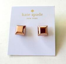 NWT Kate Spade New York Big Dipper Rose Gold-Tone Square Stud Earrings NEW $48