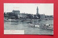 AK DRESDEN 1910 Oper mit Fernheizwerk und Badeanstalt Elbebad      ( 35470