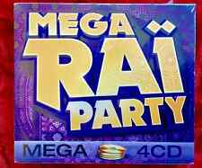 4 CD NEUF SOUS CELLO 80 HITS MEGA RAÏ PARTY !COFFRET 4 CD NEUF SOUS CELLO !
