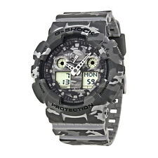 Casio G-shock Camouflage Dial Multifunction Quartz Men's Watch Ga100cm-8a