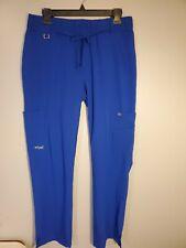 Greys Anatomy Signature Scrub Pants Medium Galaxy Blue