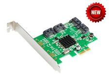 4 Ports SATA 6G PCI Express Controller Card PCI-e to SATA III 3.0 converter 9215