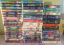 Disney Classics Masterpiece Collection VHS Huge Lot 52 Brave little toaster