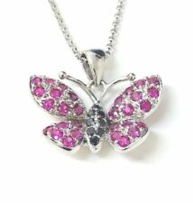 Animals & Insects Round White Gold Fine Diamond Necklaces & Pendants