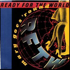 READY FOR THE WORLD MARY GOES ROUND/IT'S ALL A GAME 45RPM  W/PIC SLEEVE