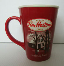 Tim Hortons Coffee Mug Limited Edition #011 Welcome Home 3D Collector's series