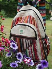Hemp & Cotton Backpack Made In Nepal