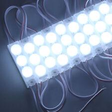 10pcs Super Bright White 2835 Module LED Light 3 LEDs Waterproof Small Size 12V