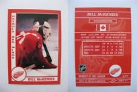 2015 SCA Bill McKenzie rare Detroit Red Wings goalie never issued produced #d/10