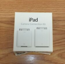 Genuine Apple iPad (MC531ZM/A) Camera Connection Kit in Box **READ**
