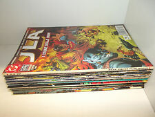 JLA 1/22-JUSTICE LEAGUE OF AMERICA-COLLEZIONE COMPLETA-DC-PLAY PRESS---------E38