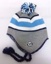 Pittsburgh Penguins NHL Reebok Fitted Knit Peruvian Beanie Pom Hat Skull Cap NWT