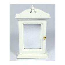Spiegelschrank weiß Puppenhaus Puppenstube 1 12