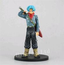 Anime Dragon Ball Z The Super Warrior Trunks PVC Figura Figurilla Modelo 17cm