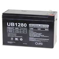 UPG 12V 8Ah SLA Battery Replacement for DSC Alarm Systems PC2550