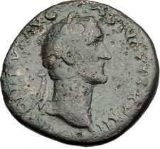 Antoninus Pius 151AD Rome Sestertius Original Ancient Roman Coin AEQUITAS i65127