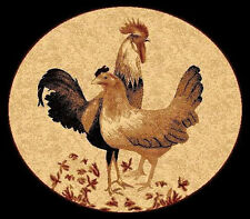 ROOSTER HEN 5X8 AREA RUG FOR THE HOME NEW **ON SALE**