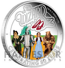 2019 THE WIZARD OF OZ - 80TH ANNIVERSARY - 1 OZ. SILVER COIN - WITH OGP/COA