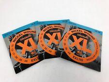 D'Addario EXL110 Nickel Wound Electric Guitar Strings, Light Gauge 3 pack sets
