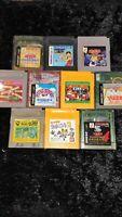 ⭐ Lot Donkey Kong Land Kirby 10 Jeux Nintendo Game Boy GB GBC Japan Jap 🎌⭐
