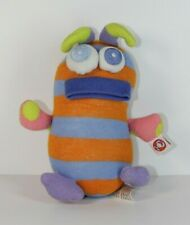 """Miss Matched Plush Sock Stuffed Animal Monster Alien Toy Small 7"""""""