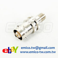 Adapter, 1 PCS of BNC FEMALE TO SMA FEMALE, NICKEL (Adapter-BC060B)