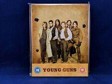 YOUNG GUNS Steelbook Bluray Emilio Estevez Kiefer Sutherland Western Classic DVD