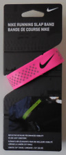 NIKE Running Slap Band Color Pink/Silver/Black Size OSFM New