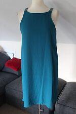 size 16 stunning turquoise chiffon dress from next brand new