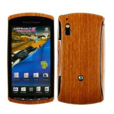 Skinomi Light Wood Phone Skin+Screen Protector for Sony Ericsson Xperia Play 4G