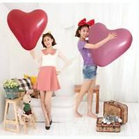 10 Pcs Heart Shaped Multicolor Latex Balloons Birthday Wedding Party Decor Hot