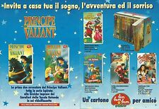 X1672 Principe Valiant - Bim Bum Bam Video - Pubblicità del 1994 - Vintage ad