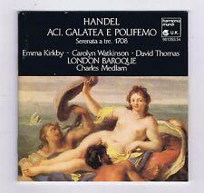 HANDEL BOX SET 2 CDS ACIS, GALATEA E POLIFEMO / CHARLES MEDLAM/ EMMA KIRBY