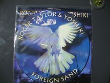 "Roger Taylor/Queen - Foreign Sand - 12"" 1994 Pic Disc Vinyl Record Never Played"