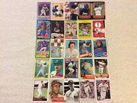 HALL OF FAME Baseball Card Lot 1973-2020 STAN MUSIAL HANK AARON JACKIE ROBINSON