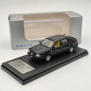 1:43 Volkswagen Santana 3000 Black Alooy Car Models Limited Edition Collection